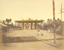 Preparation for native festivities, Madras 24854